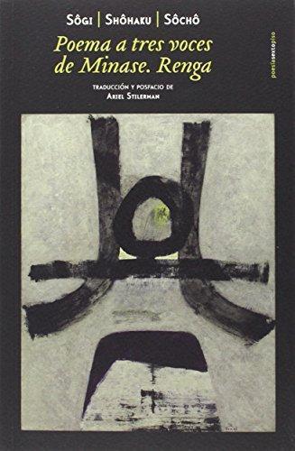 Poemas A Tres Voces De Minase Renga