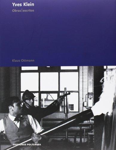 Yves Klein. Obras Escritos
