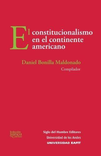 Constitucionalismo En El Continente Americano, El
