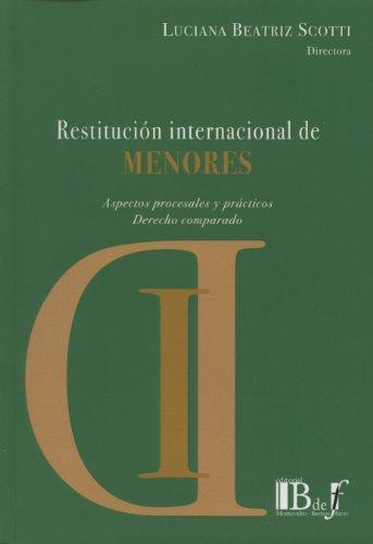 Restitucion Internacional De Menores