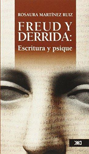 Freud Y Derrida Escritura Y Psique