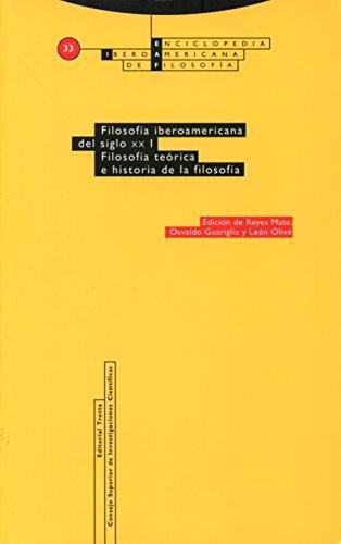 Eiaf No. 33-1 Filosofia Iberoamericana Del Siglo Xx (I) Filosofia Teorica E Historia De La Filosofia
