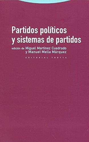 Partidos Politicos Y Sistemas De Partidos