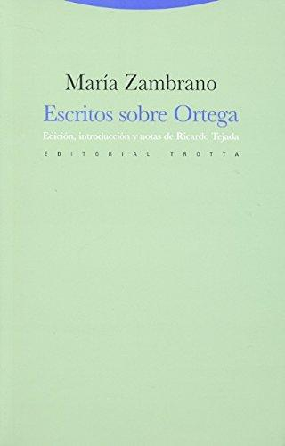 Escritos Sobre Ortega