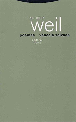 Poemas Venecia Salvada