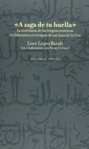 A Zaga De Tu Huella La Enseñanza De Las Lenguas Semiticas En Salamanca