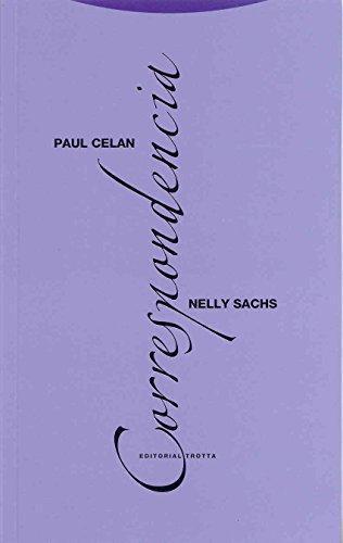 Paul Celan Nelly Sachs Correspondencia