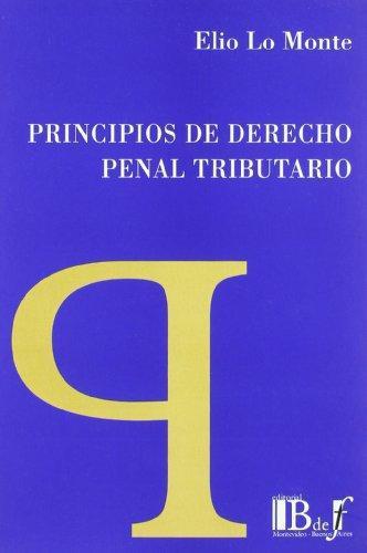 Principios De Derecho Penal Tributario