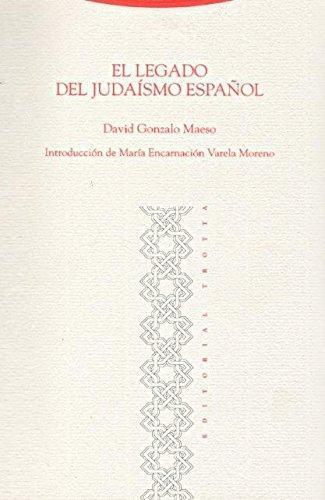 Legado Del Judaismo Español, El