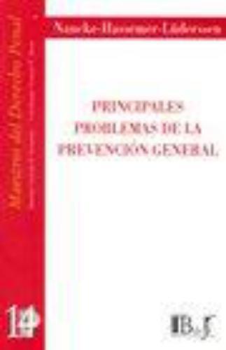 Principales Problemas De La Prevencion General