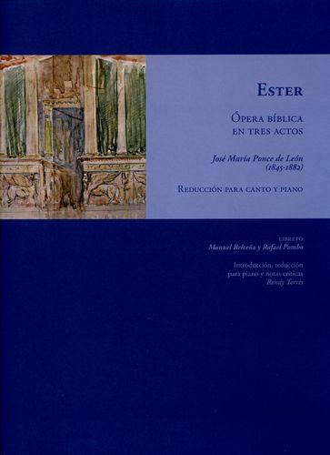 Ester Opera Biblica En Tres Actos