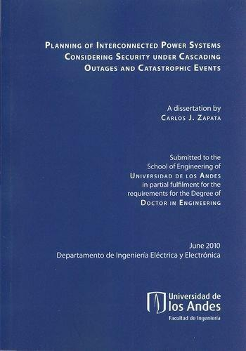 Planning Of Interconnected Power Systems Considering Security Under Cascading Outages And Catastrophic Events