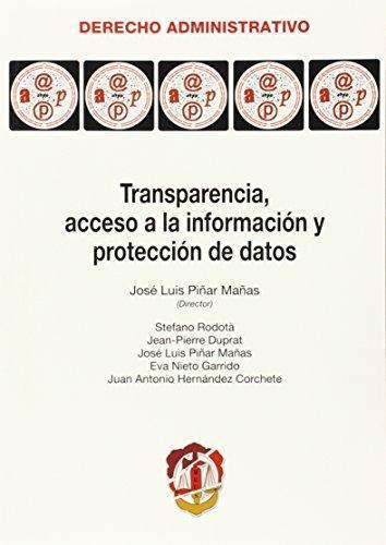 Transparencia Acceso A La Informacion Y Proteccion De Datos