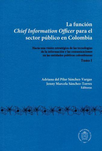 Funcion Chief Information Officer (I) Para El Sector Publico En Colombia, La