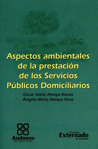 Aspectos Ambientales De La Prestacion De Los Servicios Publicos Domiciliarios