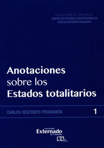 Anotaciones Sobre Los Estados Totalitarios