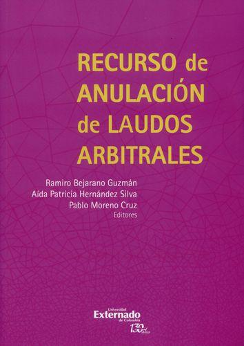 Recurso De Anulacion De (+Cd) Laudos Arbitrales