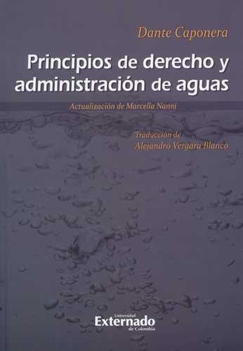Principios De Derecho Y Administracion De Aguas