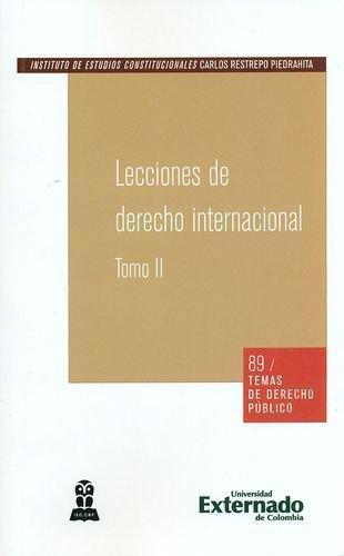 Lecciones De Derecho Internacional Ii (Temas No. 89)