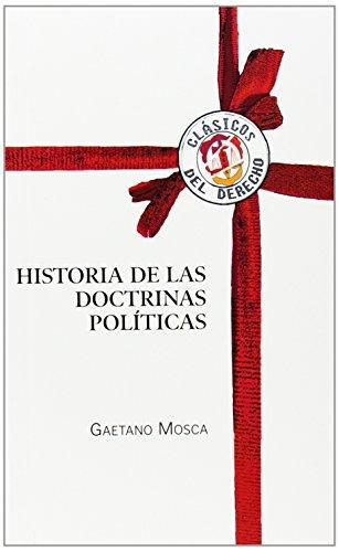 Historia De Las Doctrinas Politicas