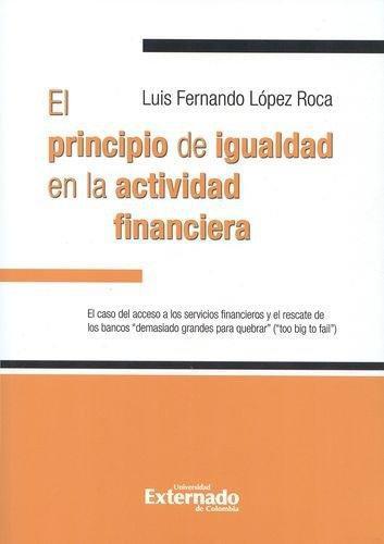 Principio De Igualdad En La Actividad Financiera, El