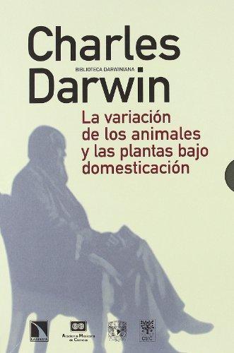 Variacion De Los Animales Y Las Plantas Bajo Domesticacion (Dos Tomos), La