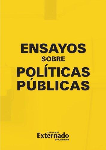 Ensayos Sobre Politicas Publicas