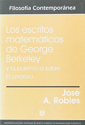 Escritos Matematicos De George Berkeley, Los