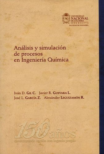 Analisis Y Simulacion De Procesos En Ingenieria Quimica