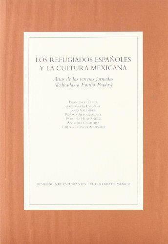 Refugiados españoles y la cultura México. 3