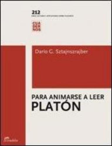 Para animarse a leer a Platón