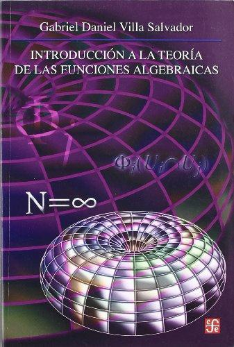 Introducción a la teoría de las funciones algebraicas