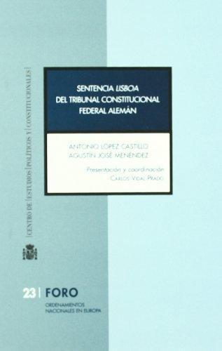 Sentencia Lisboa Del Tribunal Constitucional Federal Aleman