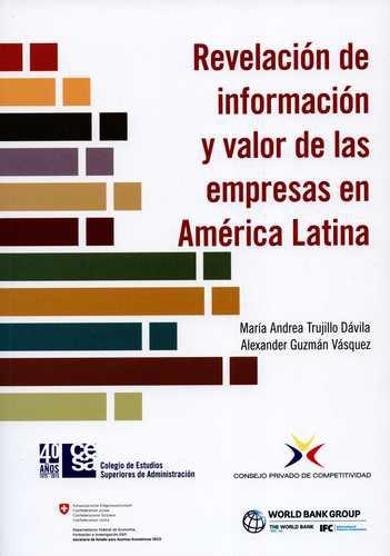 Revelacion De Informacion Y Valor De Las Empresas En America Latina
