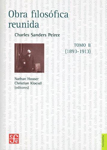 Obra filosófica reunida. Tomo. II (1893-1913)