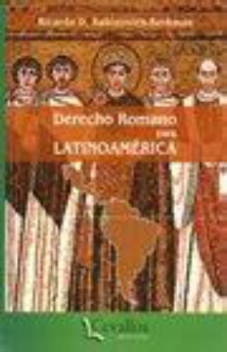 Derecho Romano Para Latinoamerica
