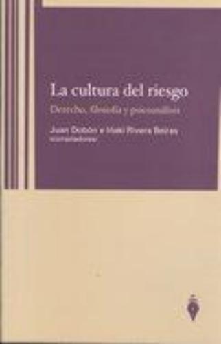 Cultura Del Riesgo Derecho Filosofia Y Psicoanalisis, La