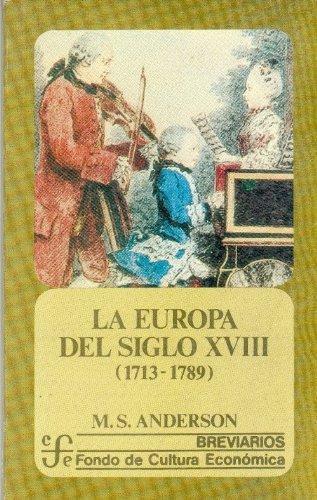 Europa del siglo XVIII, 1713-1789, La
