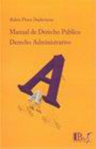 Derecho Administrativo Manual De Derecho Publico Tomo Ii