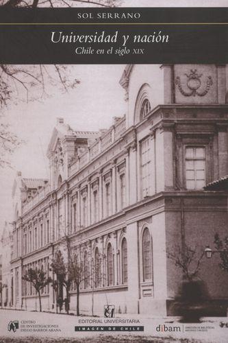 Universidad Y Nacion Chile En El Siglo Xix
