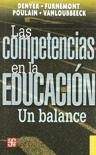 Competencias en la educación, Las. Un balance
