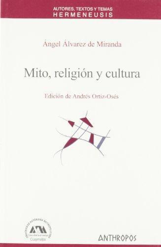 Mito Religion Y Cultura