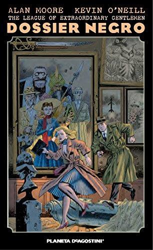 The League Of Extraordinary Gentlemen Dossier Negr