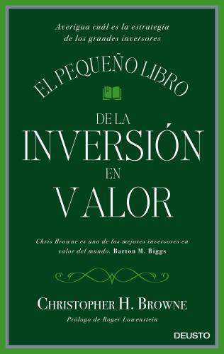 El Pequeño Libro De La Inversión En Valor