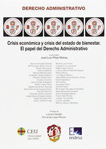 Crisis Economica Y Crisis Del Estado De Bienestar El Papel Del Derecho Administrativo