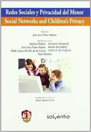 Redes Sociales Y Privacidad Del Menor / Social Networks And Children'S Privacy