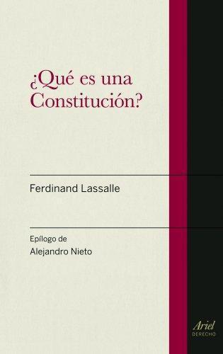 Que Es Una Constitucion ?