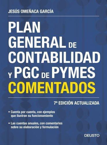 Plan General De Contabilidad Y Pgc De Pymes Comerciales