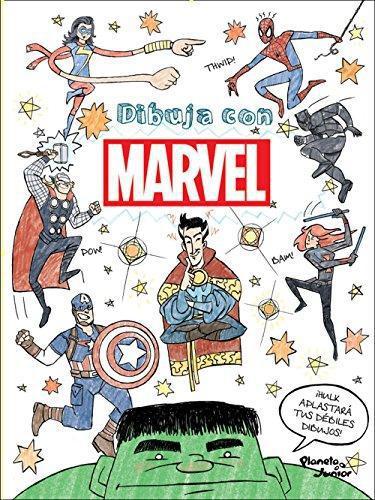 Dibuja Con Marvel