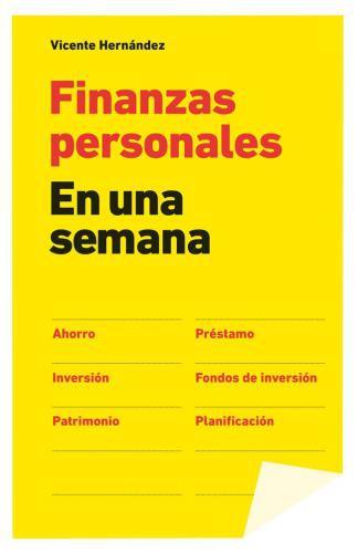 Finanzas Personales En Una Semana